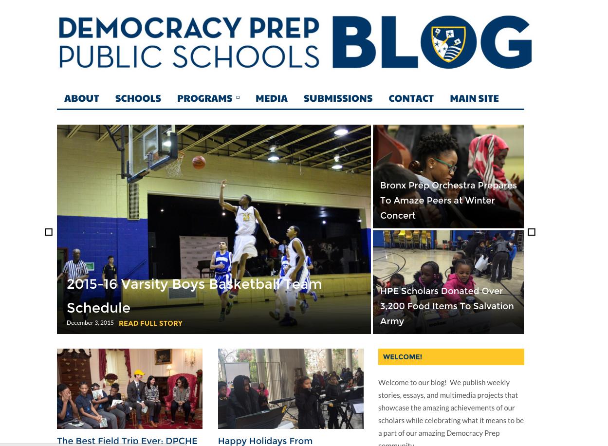Managing Editor, Democracy Prep Public Schools Blog